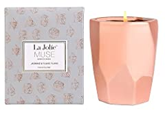 Why choose Soy candles? 1. Compared to paraffin wax, soy wax is naturally biodegradable and eco-friendly. 2. Soy wax candles do not increase the CO2 level in the atmosphere like paraffin candles do. 3. Soy not only burns cleaner, but slo...