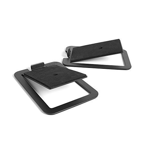 Kanto S4 Desktop Speaker Stands for Midsize Speakers, Black