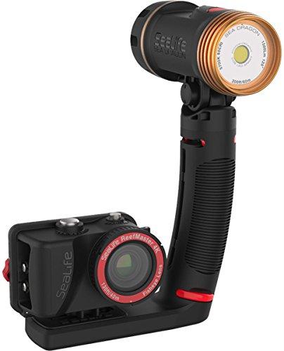 SeaLife ReefMaster RM-4K HD Wi-Fi Underwater Digital Camera with Sea Dragon 1500 LED Light includes SL942 Sea Dragon (Sealife Reefmaster)