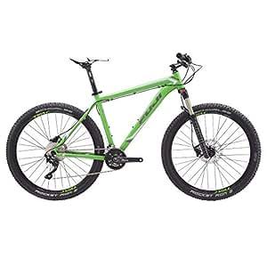 Fuji Tahoe Elit 1.3 15 inch Mountain Bike - White/Green, FUJI-1154541315