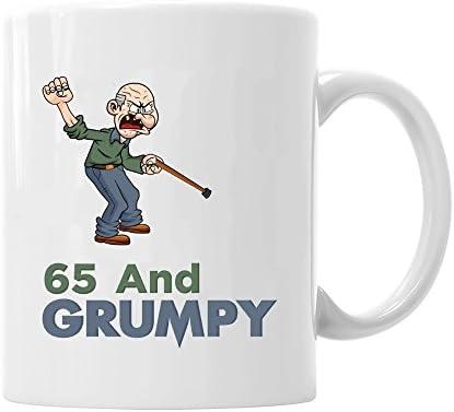 65th Birthday Gift Idea For Men Funny Novelty Keepsake 65 Year Old Coffee Mug