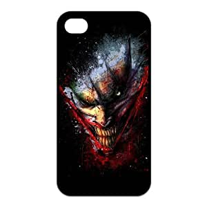 The Batman Joker Why So Serious Image Snap On TPU Iphone 4 4S Case