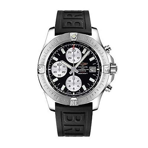 Breitling Men's BTA1338111-BC33BKPD3 Avenger II Analog Display Swiss Automatic Black Watch