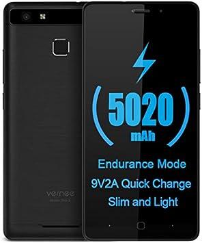 Vernee Thor E - Android 7.0 5020mAh Batería 4G Smartphone Cuerpo de Metal Completo, 8.2mm Slim