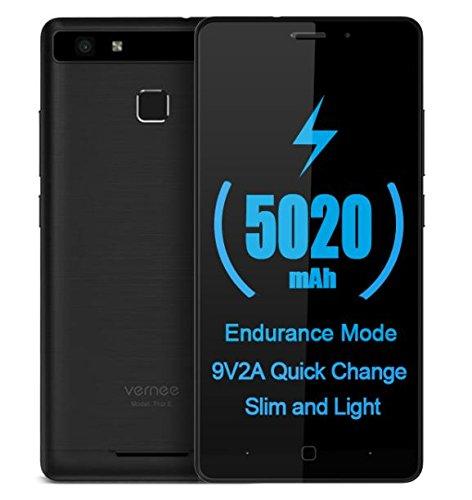 7 opinioni per Vernee Thor E- Android 7.0 5020mAh Batteria 4G smartphone Corpo pieno del