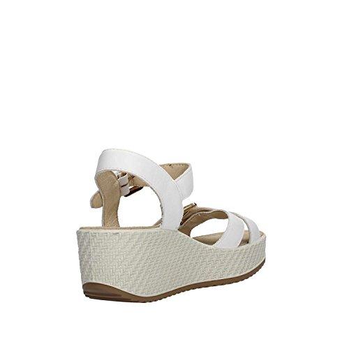 Blanc Soft Sandales Enval 1284377 Femme nqgxZZRwW