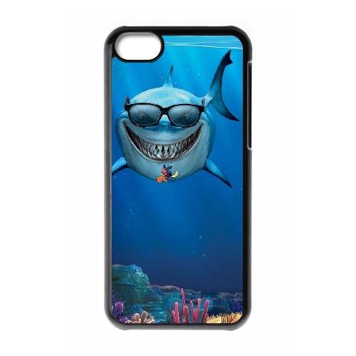 Finding Nemo OG33BK7 coque iPhone Téléphone cellulaire 5c cas coque U6SN2H7CF