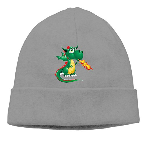 akun-fire-dragon-pterosaur-image-knitted-beanie-skull-caps-for-man-and-women