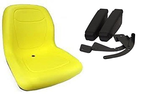 Yellow HIGH BACK SEAT w ARM RESTS for Cub Cadet Zero Turn...