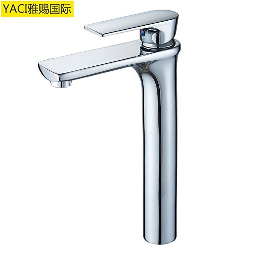 Mp9006 GQLB Modern copper faucet copper high faucet hot and cold water basin faucet 05A