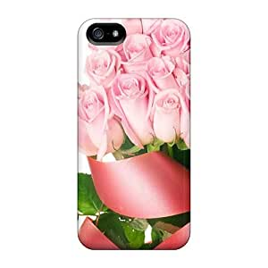 JoinUs Iphone 5/5s Well-designed Hard Case Cover Rose Flower Wallpaper Free 67 Protector