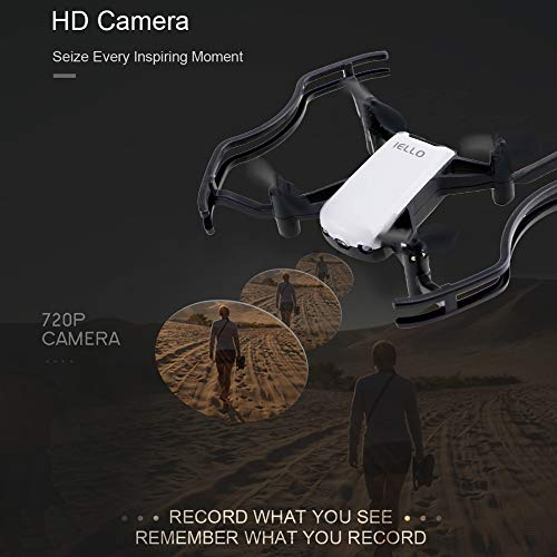 New Gesture Command Drone Optical Flow Fixed Point 2MP WiFi FPV Selfie Drone for FPV Drone Premium Portable Easy Install UAV Part Pro by SMOXX