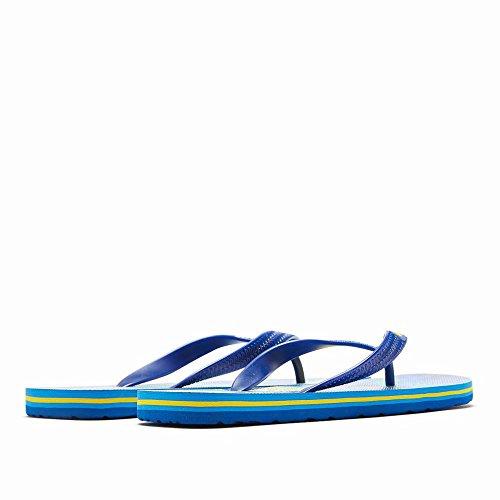 los hogar la Zapatos Verano Flops Moda y Antideslizante Marea pellizco Flip AN Hombres Cómodo de Plano de Tendencia Color Playa Fresco de Piso qOxgE8