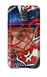 Tpu ChrisPeters Shockproof Scratcheproof Washington Capitals Hockey Nhl (4) Hard Case Cover For Galaxy S5