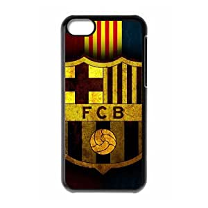 InCaseIt - Barcelona 4th + Screen Guard - Black TPU Phone case cover for iphone5c,black