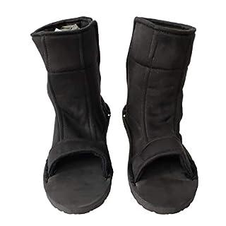 OURCOSPLAY Naruto Shoes Black Shippuden Ninja Shinobi Shoes [US 5 - US 11] [ Adult/Child ] (38#/25CM/US 7)