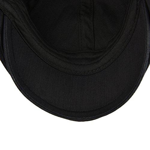 VOBOOM Ivy Caps Herringbone Cotton Flat caps Light Weight Newsboy Caps Cabbie Hat