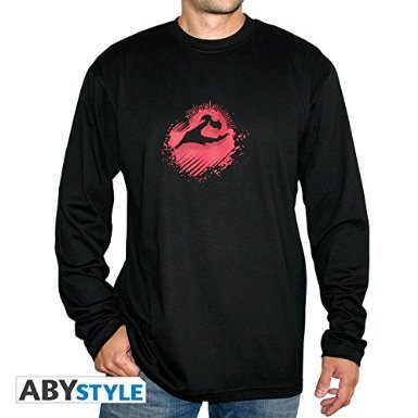 DEATH NOTE T-shirt Kira long sleeves (Death Note Kira Game)