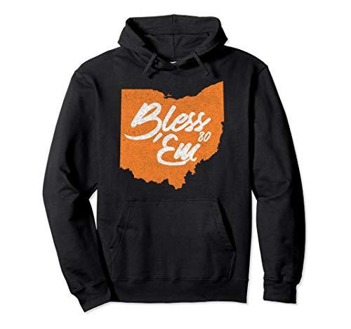 Cleveland Browns Hoody Sweatshirt - Bless 'Em Vintage style Browns football hoodie