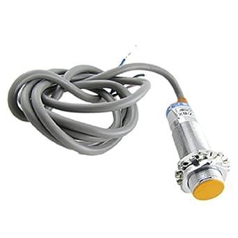eDealMax a11031400ux0308 LJ18A3-5-Z/BX NPN 3 hilos Interruptor Tubular Sensor de