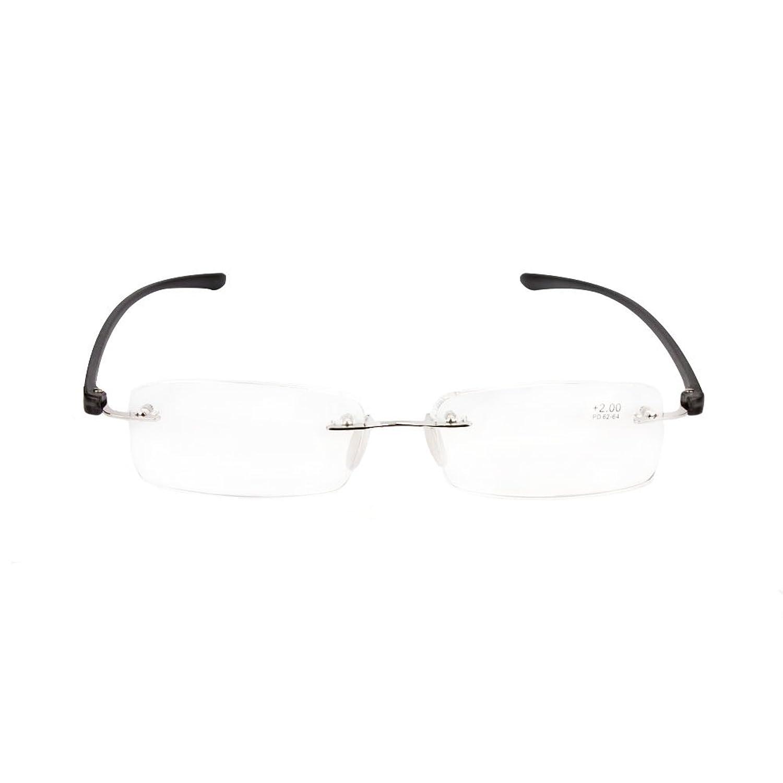 Inlefen Ultra Light Fashion Design sin montura gafas de lectura sin ...
