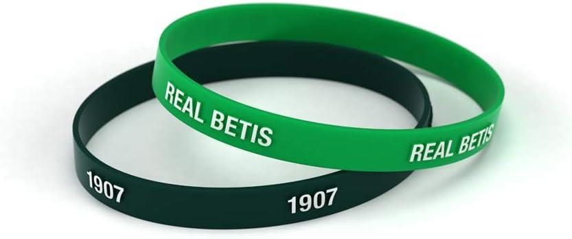 Real Betis Balompié Pulsera Relieve Verde y Negra Estándar para Hombre   Pulsera de Silicona   Apoya al Real Betis con un Producto Oficial verdiblanco   RBB: Amazon.es: Deportes y aire libre