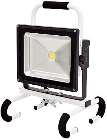 日動 着脱式LEDチャージライトマルチ 50W 取寄品 BAT-HRE50SN