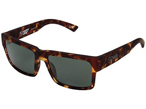 Spy Optic Montana Sunglasses Matte Tortoise w/ Happy Grey Green Lens + - Hunt Sunglasses Spy