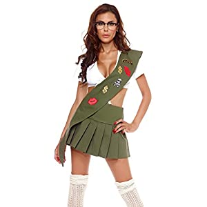Sexy Girl Scout Costumes Cookie Costume