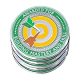 """AttaCoin - 5 Pack Metal Thank You Coins for """"Mastery"""" - Unique Office Gift Ideas - Employee Appreciation / Holiday Presents"""