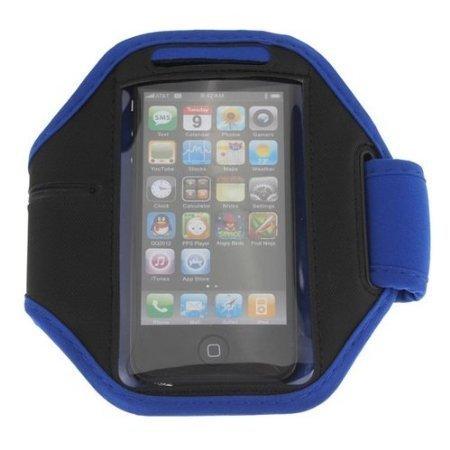 DEET® iPhone 5S/5/se sport da porta cellulare da braccio–blu