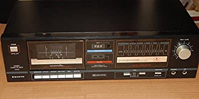 Sanyo Stereo Cassette Deck RD S29 Hard Permalloy Recording Head Dolby Soft Touch from Sanyo