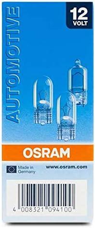 Set de 10 OSRAM 2820 Ampoule Eclairage int/érieur 12 V