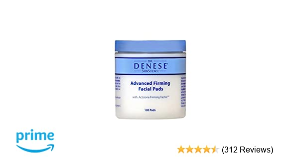 aeacf3933e Amazon.com  Dr. Denese Advanced Firming Facial Pads (100 Count)  Beauty