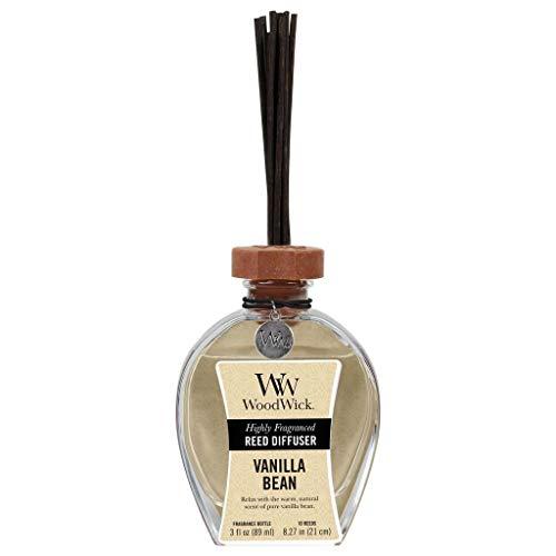 WoodWick Vanilla Bean Reed Diffuser, 3 oz.