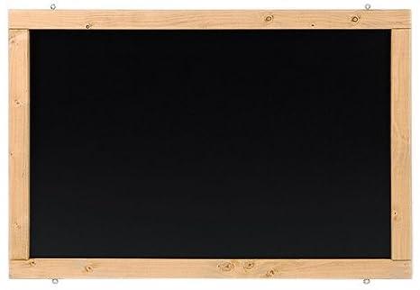 Rustikale Tafel Kreidetafel Wandtafel K/üchentafel mit Holzrahmen zur Beschriftung mit Kreide im Landhausstil in verschiedenen Gr/ö/ßen und Farben Weidengr/ün, 50x70cm