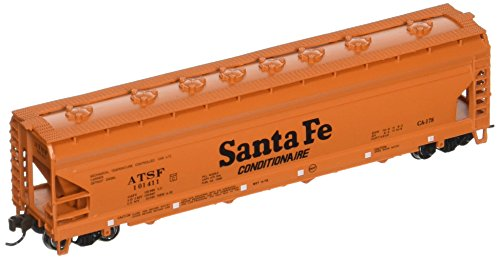 - Bachmann Industries Santa FE ACF 4-Bay Center-Flow Hopper Car (N Scale), 56'