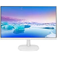 "Philips 243V7QDAW 23.8"" FHD IPS White Monitor"