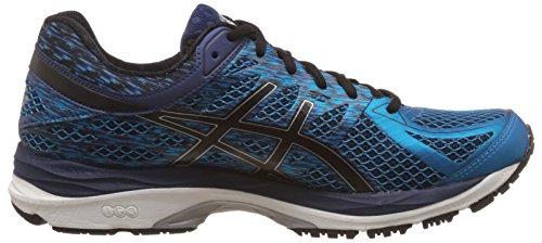 Asics MenS Gel-Cumulus 17 Island Blue, Black and Indigo Blue Running Shoes - 10 UK/India (45 EU) (11 US)