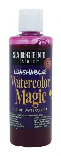 Sargent Art 22-6238 4-Ounce Watercolor Magic, Magenta