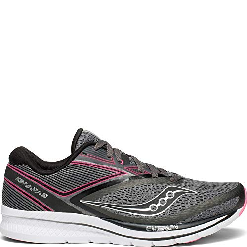 Saucony Kinvara 9 Women 7.5 Grey | Black | Pink
