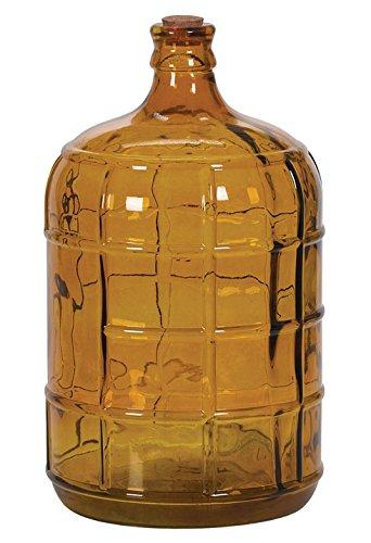 Hills Imports Glass Bottle, Amber