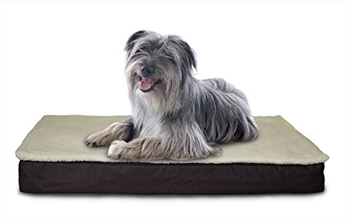 Furhaven Orthopedic Mattress Pet Bed, Large, Convertible Esp