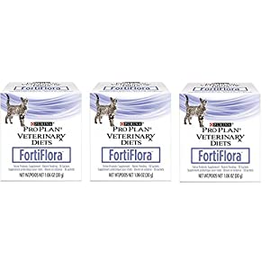 Purina Fortiflora Cat Nutritional Supplement (3 Pack) 30 Sachets Each 21