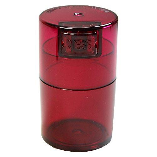 TV0-CRT Vitavac - 5g to 20 gram Vacuum Sealed Container Red Tint