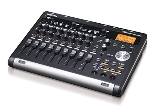 Tascam DP-03SD 8-Track Digital Portastudio Multi-Track Audio Recorder (Best Portable Audio Recorder For Music)