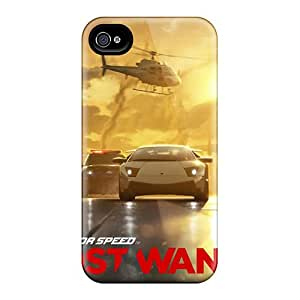Tpu Shockproof/dirt-proof 2012 Need For Speed Most Wanted Cover Case For Iphone(4/4s)