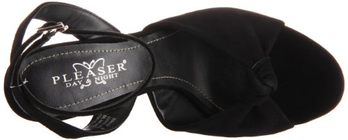 Pleaser Day & Night - Sandalias mujer negro - Blk Suede