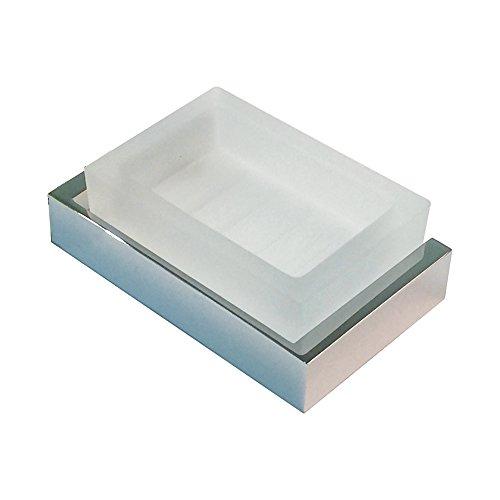 (Rohl QU600-APC 1145/8Stn Qu600 Wave Wall Mounted Soap Dish, Polished)