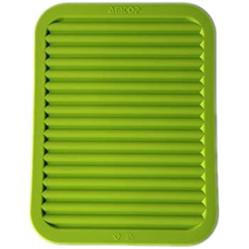 Amazon Com 9 Quot X 12 Quot Silicone Pot Holder Trivet Mat
